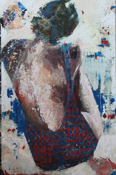 "Barbara Shore Perpetuity 36"" x 24"" Mixed Media on Canvas $1380.00 Canvas Gallery Toronto"